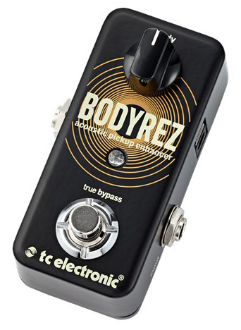 t.c.electronic BodyRez 新品 アコースティック・ピックアップ・エンハンサー[TCエレクトロニック][Effector,エフェクター]