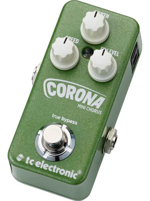 t.c.electronic Corona Mini Chorus 新品 コーラス[TCエレクトロニック][コロナ][ミニ][Effector,エフェクター]