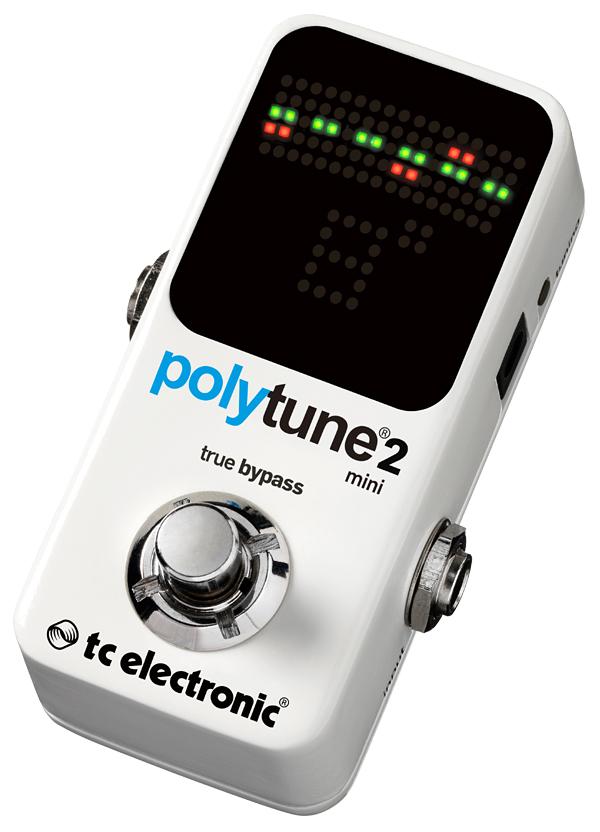 t.c.electronic polytune 2 mini 新品 ギターチューナー[TCエレクトロニック][ポリチューンミニ][ポリフォニックチューナー][Chromatic Tuner,クロマチック][Pedal Tuner,ペダルチューナー]