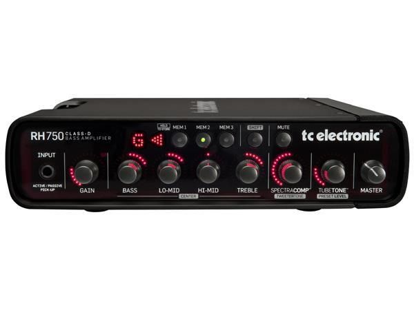 【750W】t.c.electronic RH750 新品 ベースアンプヘッド[TCエレクトロニック][RH-750][Bass Head Amplifier]