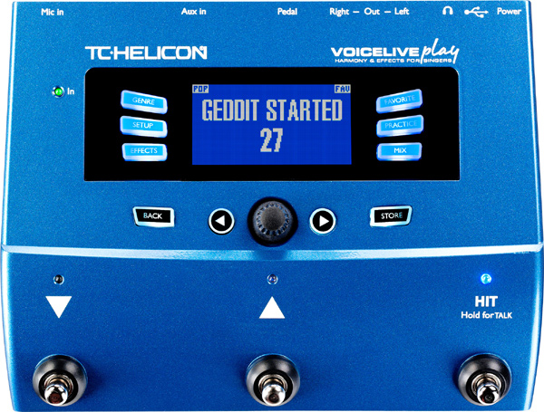 TC-HELICON VOICELIVE Play 新品 ヴォーカル用マルチエフェクター[TCヘリコン,t.c.electronic,TCエレクトロニック][Vocal Multi Effector][Looper,ルーパー]