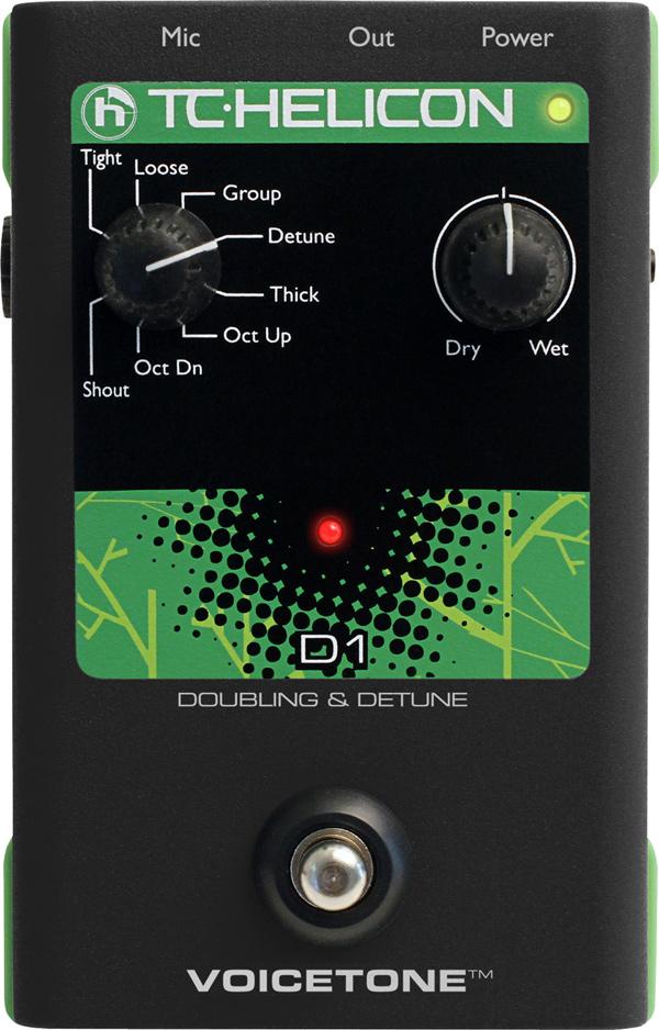 TC HELICON Voice Tone D1 新品 ダブリング[TCヘリコン,t.c.electronic,TCエレクトロニック][Vocal Effector,エフェクター][Doubling]