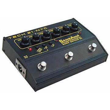【正規品】TECH21 SansAmp PROGRAMMABLE Bass Driver DI 新品 ベース用プリアンプ[サンズアンプ][プログラマブルベースドライバー][Amplifier][エフェクター,Effector]