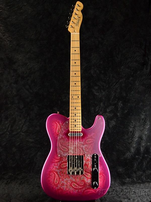 Tokai ATE122 感謝価格 在庫一掃 PR Pink Paisley 新品 トーカイ 東海楽器 国産 ATE-122 Guitar テレキャスタータイプ Electric ピンクペイズリー Telecaster エレキギター 赤 TL