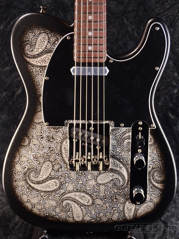 無料配達 【極少限定生産】Tokai ATE122 BPR Black Paisley 新品[トーカイ,東海楽器][国産][ブラックペイズリー,黒][Telecaster,TL,テレキャスタータイプ][Electric Guitar,エレキギター][ATE-122], 壱枚乃絵 fda13dec