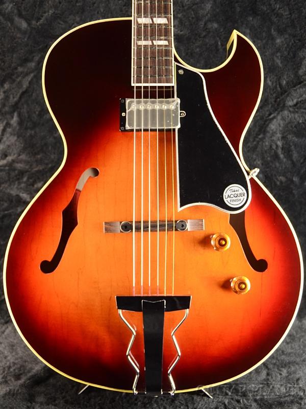 【弊店オーダーモデル】Tokai FA-GP C/SB Whiskey Sunburst 新品[トーカイ,東海][国産][サンバースト][ES-175][フルアコ,セミアコ][Electric Guitar,エレキギター]