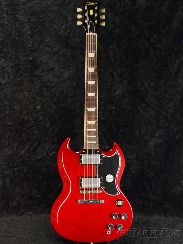 Tokai SG215 CH 新品 チェリー[トーカイ,東海][国産][SG-215][Cherry,Red,レッド,赤][Electric Guitar,エレキギター]