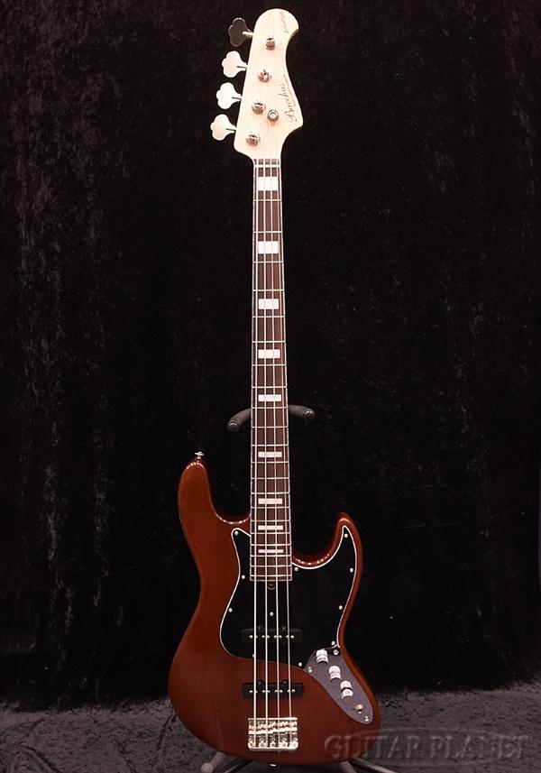 BacchusWL4-MAHO -BR- 新品[バッカス][Craft Series,クラフトシリーズ][国産][ブラウン,茶色][Jazz Bass,ジャズベースタイプ][Electric Bass,エレキベース]