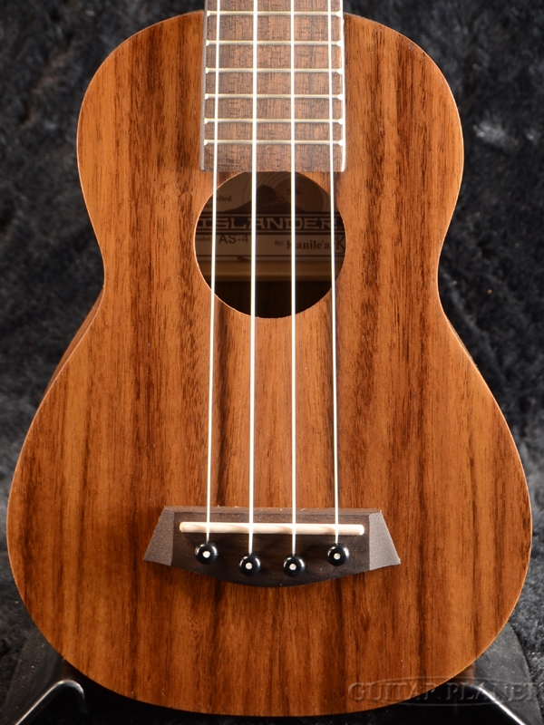 ISLANDER by Kanile'a AS-4 Soprano 新品 ソプラノウクレレ [アイランダー,カニレア][ソプラノ][アカシア][Natural][Ukulele][AS4]
