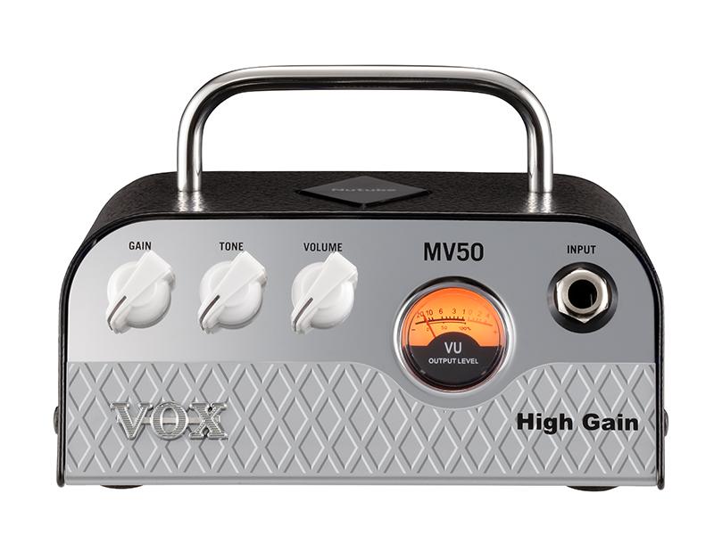 VOX MV50 High Gain 新品 Nutube搭載ヘッドアンプ [ヴォックス,ボックス][ニューチューブ][ハイゲイン][Guitar Amplifier Head,ギターアンプヘッド][MV50]