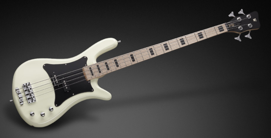 Warwick Rock Bass Series Artist Line Adam Clayton 4st 新品 Cream White[ワーウィック][アダムクレイトン,U2][クリームホワイト,白][Electric Bass,エレキベース]