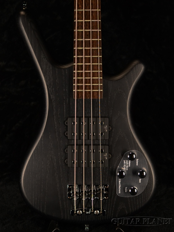 Warwick RockBass Corvette $$ 4st -Nirvana Black Transparent Satin- 新品[ワーウィック][ロックベース][ニルヴァーナブラック,黒][Electric Bass,エレキベース]