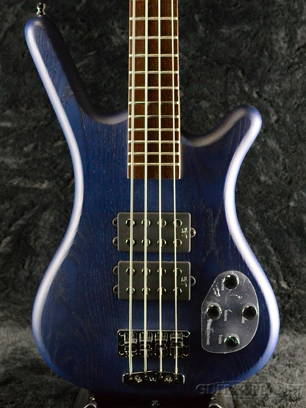 Warwick RockBass Corvette $$ 4st -Ocean Blue Transparent Satin- 新品 オーシャンブルー[ワーウィック][ロックベース][Electric Bass,エレキベース]