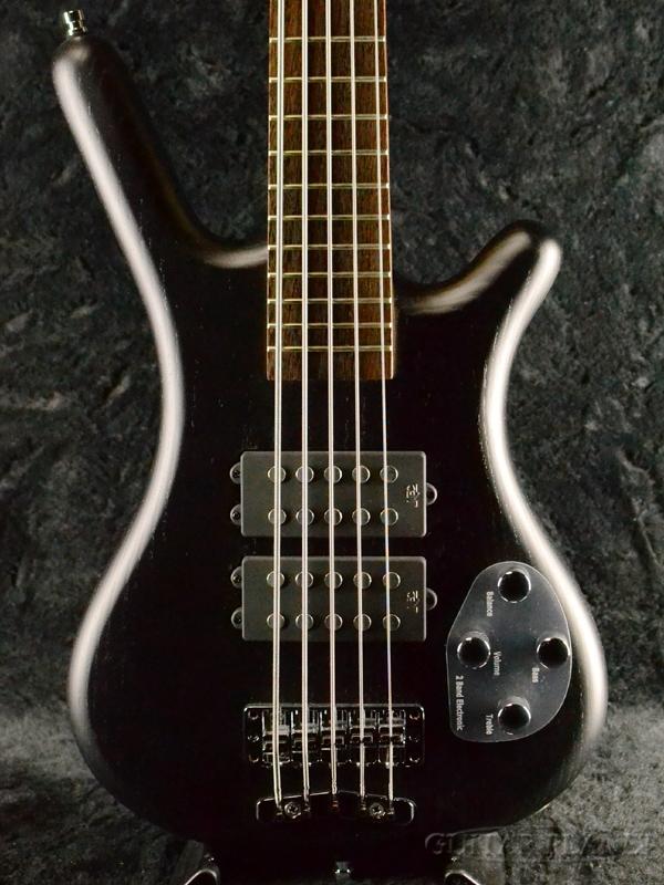 Warwick RockBass Corvette $$ 5st -Nirvana Black Transparent Satin- 新品 ニルヴァーナブラック[ワーウィック][5弦,5Strings][黒][ロックベース][Electric Bass,エレキベース]