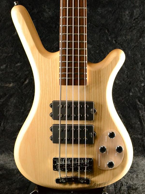 Warwick RockBass Corvette $$ 5st -Natural Satin- 新品 ナチュラル[ワーウィック][5弦,5Strings][ロックベース][Electric Bass,エレキベース]
