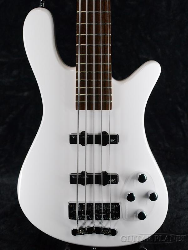 Warwick Rock Bass Streamer LX 5st -Solid White- 新品 ソリッドホワイト[ワーウィック][ロックベース][ストリーマー][5弦,5Strings][Electric Bass,エレキベース]