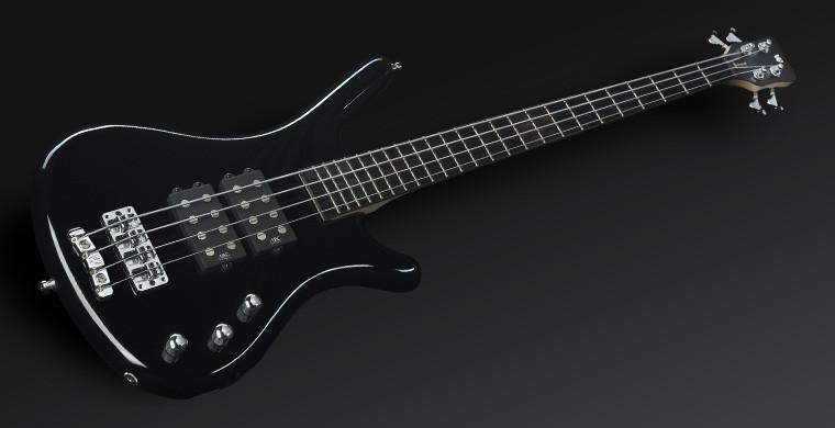 Warwick Rock Bass Series Corvette$$ 4st 新品 Black[ワーウィック][ロックベースシリーズ][コルベット$$][Humbucker,ハムバッカー][ブラック,黒][Passive,パッシブ][Electric Bass,エレキベース]