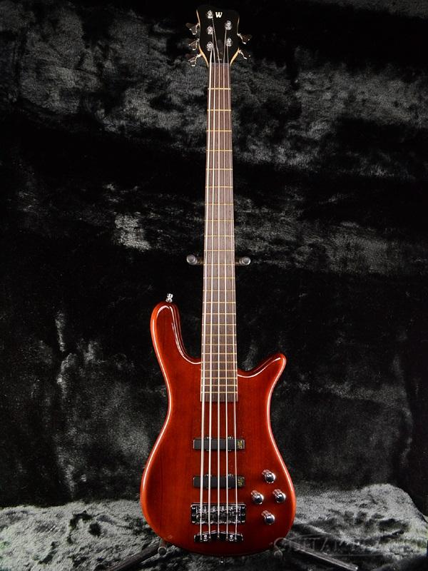 【新品アウトレット】Warwick Pro Series Streamer LX 5st 新品 アンティークタバコ[ワーウィック][プロシリーズ][ストリーマーLX][Active,アクティブ][艶あり][5弦][Antique Tobacco][Electric Bass,エレキベース]