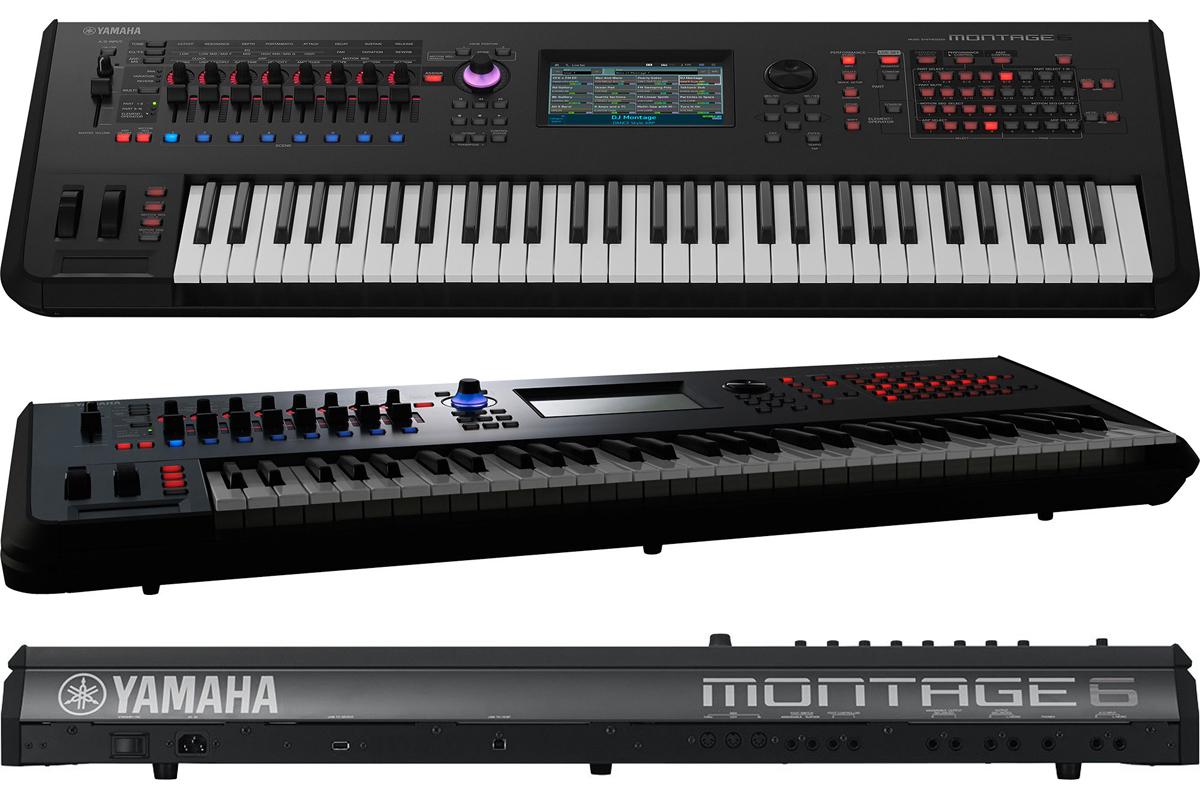 YAMAHA MONTAGE6 新品[ヤマハ][61鍵][モンタージュ][Synthesizer,シンセサイザー,Keyboard,キーボード]