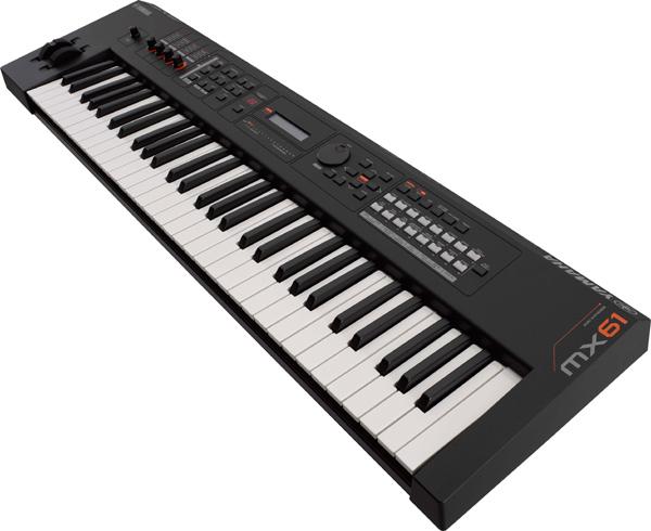 【専用ソフトケース付属】YAMAHA MX61 BK 新品 61鍵盤 シンセサイザー[ヤマハ][Black,ブラック,黒][Synthesizer][Keyboard,キーボード][MX-61]