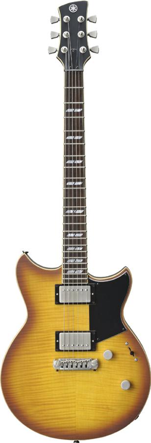 YAMAHA REVSTAR RS620 BRICK BURST BRB 新品[ヤマハ][レブスター][ブリックバースト,黄][Electric Guitar,エレキギター]