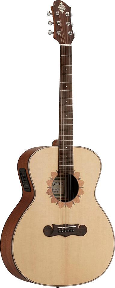Zemaitis CAG-100FW-E 新品[ゼマイティス][L.R.Baggs搭載][Natural,ナチュラル][エレアコ][Acoustic Guitar,アコギ,アコースティックギター,Folk Guitar,フォークギター]
