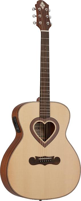 Zemaitis CAG-100HW-E 新品[ゼマイティス][Natural,ナチュラル][ピックアップ搭載][Acoustic Guitar,アコギ,アコースティックギター,Folk Guitar,フォークギター]