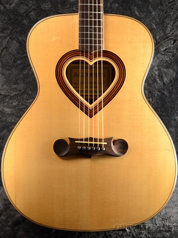 Zemaitis CAG-100HW-E-LH 新品[ゼマイティス][Natural,ナチュラル][左用,左利き,レフトハンド,レフティー,Left hand][ピックアップ搭載][Acoustic Guitar,アコギ,アコースティックギター,Folk Guitar,フォークギター]