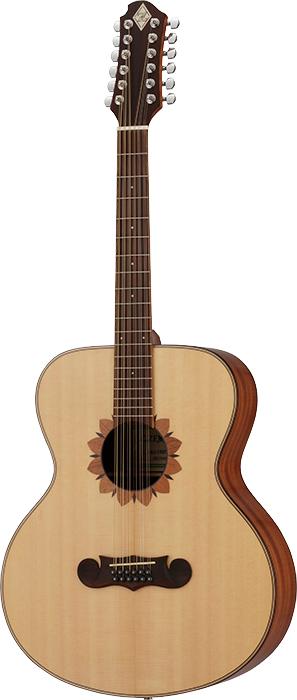 Zemaitis CAJ-100FW-12 新品[ゼマイティス][Natural,ナチュラル][12string,12弦][Acoustic Guitar,アコギ,アコースティックギター,Folk Guitar,フォークギター]