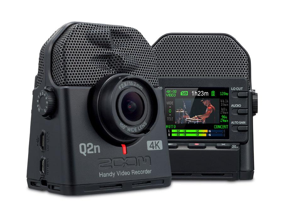 ZOOM Handy Video Recorder Q2n-4K 新品 [ズーム][ハンディビデオレコーダー][4K/HDR]