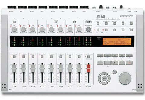 ZOOM R16 マルチトラックレコーダー 新品[ズーム][MTR][Recorder,Interface,Controller][R-16]