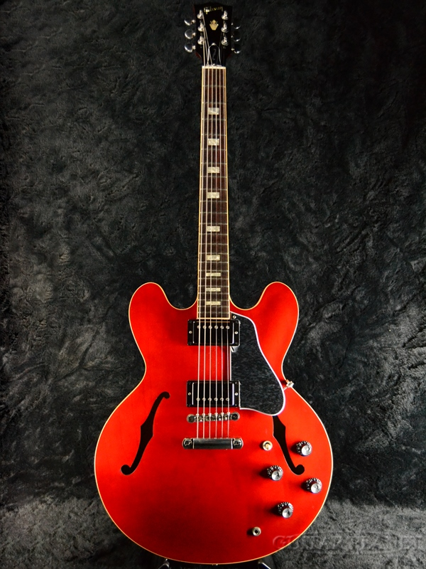 Gibson Memphis ES-335 Traditional 2018 -Antique Faded Cherry- #11018724 新品 [ギブソン][メンフィス][ES335][チェリー,赤][セミアコ][Electric Guitar,エレキギター]