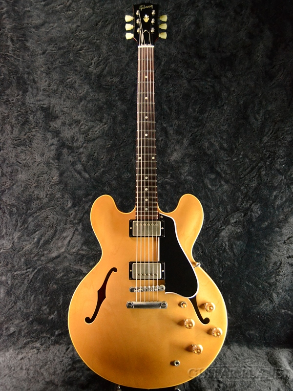 Gibson Memphis Historic Series 1958 ES-335TDN VOS '58 -Natural- #A08097 新品[ギブソン][メンフィス][ナチュラル,木目][セミアコ][Electric Guitar,エレキギター][ES335][#A08097]