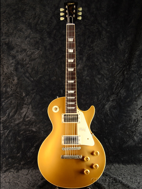 Gibson Custom Shop ~Historic Collection 2018~ 1957 Les Paul Goldtop Reissue VOS -Antique Gold / Dark Back- s/n 7 8167 新品[ギブソンカスタムショップ][アンティークゴールド,金][レスポール][Electric Guitar,エレキギター]