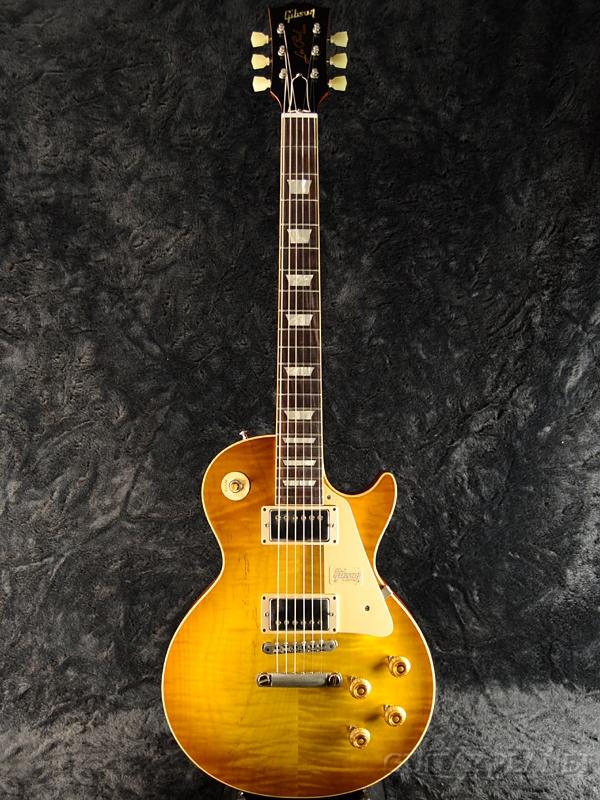 【現地選定品!!】Gibson Custom Shop ~Historic Collection 2018~ 1958 Les Paul Standard ''Hard Rock Maple'' VOS PSL -Double Dirty Lemon- #8 8895 新品[ギブソン][ヒストリックコレクション][ダーティレモン][レスポール,LP][Electric Guitar,エレキギター]