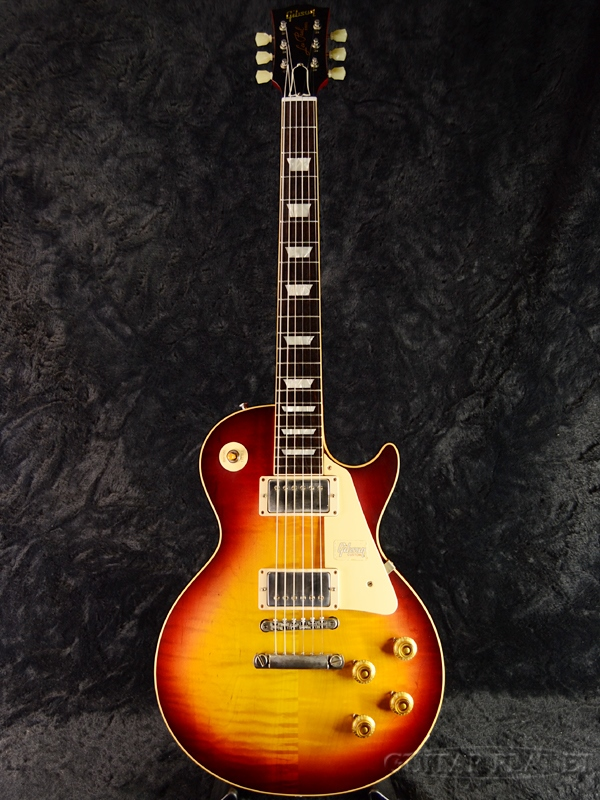 Gibson Custom Shop ~Historic Collection 2018~ 1958 Les Paul Reissue VOS -Vintage Cherry Sunburst- s/n 8 8572 新品[ギブソンカスタムショップ][チェリーサンバースト,木目][レスポール][Electric Guitar,エレキギター]
