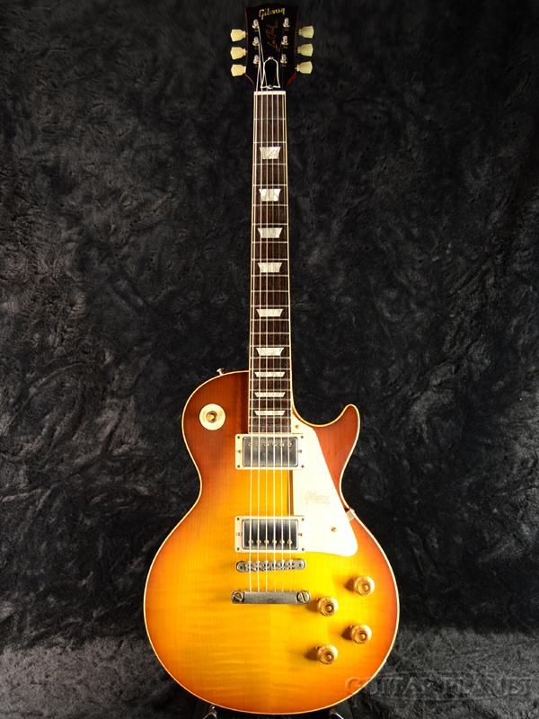 Gibson Custom Shop ~Historic Collection 2018~ 1958 Les Paul Reissue VOS -Honey Lemon Fade- s/n 8 8543 新品[ギブソンカスタムショップ][ハニーレモンフェード,黄,木目][レスポール][Electric Guitar,エレキギター]