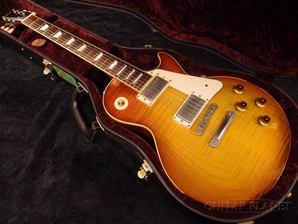 【中古】Gibson Custom Shop ~Historic Collection~ 1959 Les Paul Figured top Reissue -Heritage Cherry Sunburst- 2000年製[ギブソン][カスタムショップ][ヒストリックコレクション][チェリーサンバースト][レスポール][Electric Guitar]【used_エレキギター】