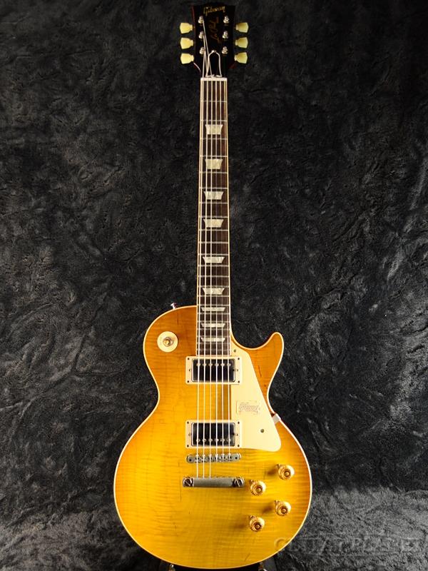 【現地選定品】Gibson Custom Shop ~Historic Collection 2018~ 1959 Les Paul Standard VOS -Honey Lemon Fade- #982595 新品[ギブソン][スタンダード][ハニーレモンフェード,イエロー,黄,木目][レスポール,LP][Electric Guitar,エレキギター]