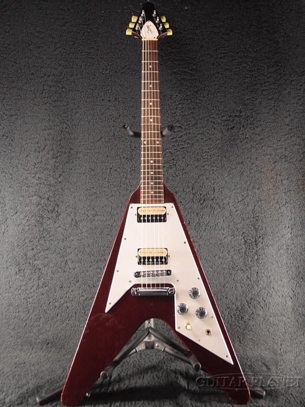 【中古】Gibson '67 Flying V MOD -Cherry- 1996年製[ギブソン][チェリー,赤][FV,フライングV][Electric Guitar,エレキギター]【used_エレキギター】