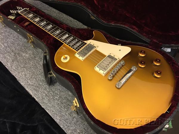 【中古】Gibson Custom Shop 1957 Les Paul Goldtop Reissue -Antique Gold / Dark Back- 2002年製[ギブソンカスタムショップ][Les Paul,レスポールタイプ][ゴールドトップ,金][Electric Guitar,エレキギター]【used_エレキギター】