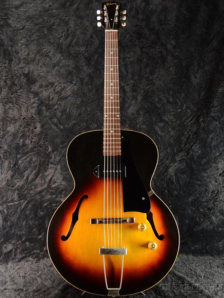【中古】Gibson ES-125 Sunburst 1955年製[ギブソン][フルアコ,セミアコ][サンバースト,木目][ES125][Electric Guitar,エレキギター]【used_エレキギター】_vtg