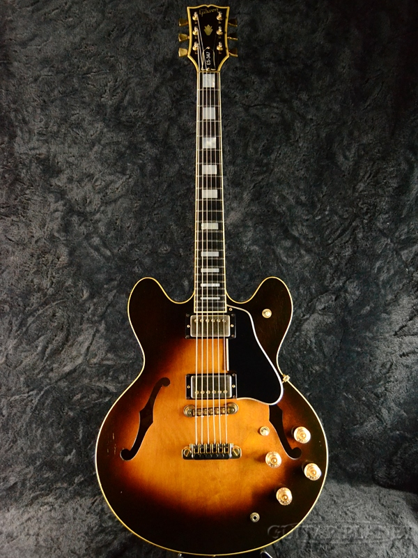 【中古】Gibson ES-347 -Antique Sunburst- 1980年製[ギブソン][サンバースト][セミアコ][Electric Guitar,エレキギター][ES347]【used_エレキギター】_vtg