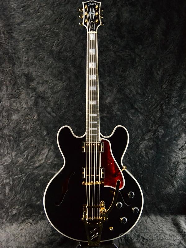 Gibson Memphis ~Limited Run~ ES-355 w/Bigsby Gloss -Vintage Ebony- #12886707 新品[ギブソン][メンフィス][Black,ブラック,ビンテージエボニー,黒][セミアコ][Electric Guitar,エレキギター][ES335][#12886707]