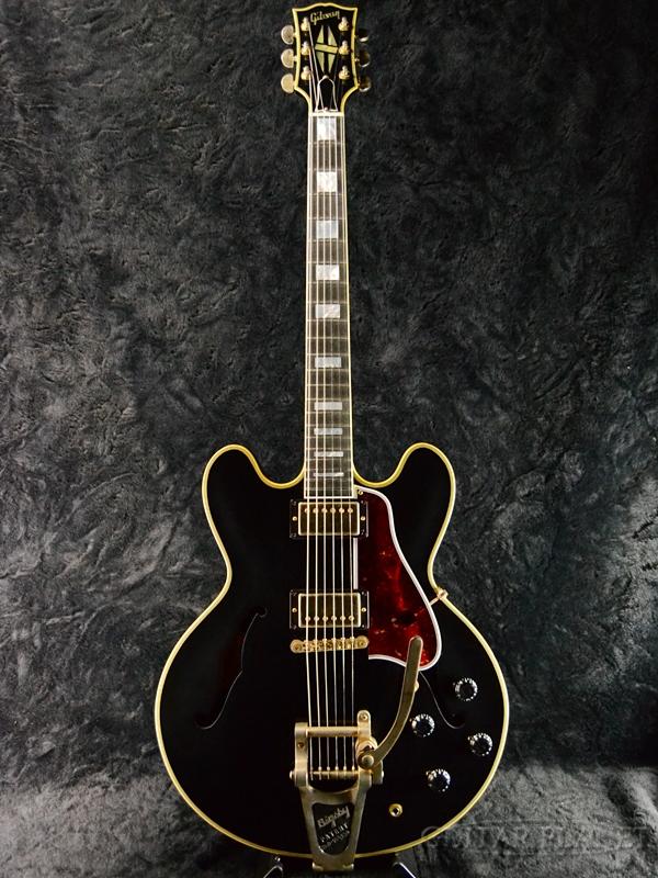 Gibson ES-355 VOS Bigsby #10327708 新品[ギブソン][メンフィス][ES355][エボニー,ブラック,黒][セミアコ][Electric Guitar,エレキギター]