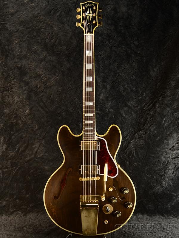 Gibson Memphis Limited Run ES-355 VOS Varitone with Maestro- Antique Walnut-#11418708 新品[ギブソン][メンフィス][ES355][ウォルナット,茶,木目][セミアコ][Electric Guitar,エレキギター]