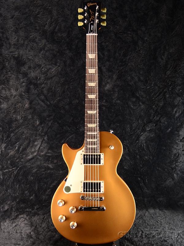 【2018 MODEL】Gibson Les Paul Tribute 2018 Left Hand Satin Gold Top 新品[ギブソン][トリビュート][ゴールド,金][レスポール,LP][左用,左利き,レフトハンド,レフティー,Left hand][Electric Guitar,エレキギター]