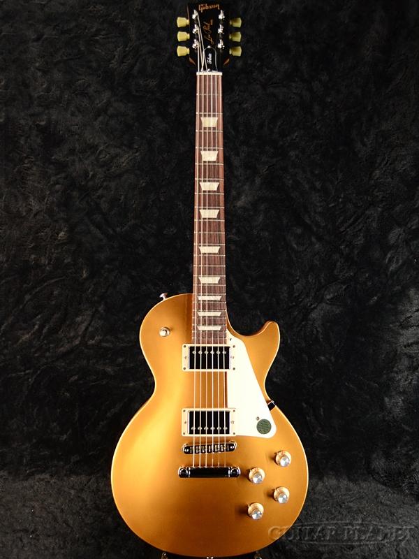 【2018 MODEL】Gibson Les Paul Tribute 2018 Satin Gold Top 新品[ギブソン][トリビュート][ゴールド,金][レスポール,LP][Electric Guitar,エレキギター]