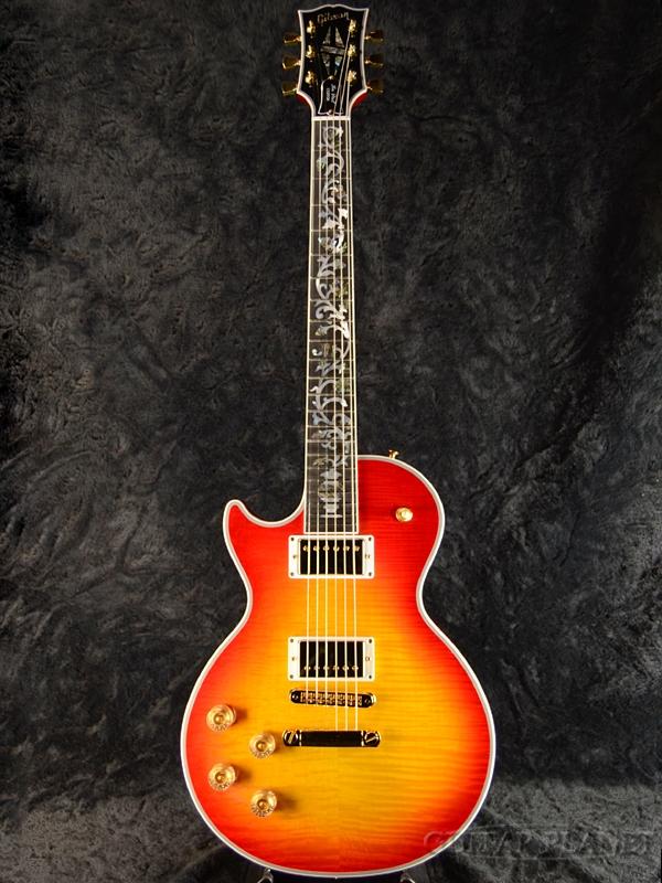Gibson Custom Shop ~Custom Crimson~ Les Paul Custom Figured w/Tree Of Life Fingerboard