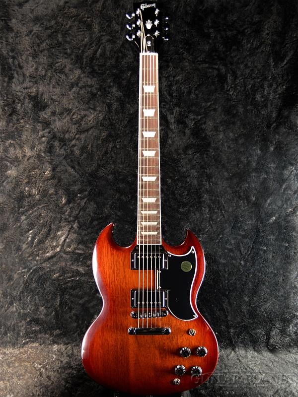 【2018 MODEL】Gibson SG Standard 2018 Autumn Shade 新品[ギブソン][スタンダード][SG,エスジータイプ][Electric Guitar,エレキギター]